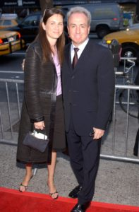 Lorne Michaels with wife