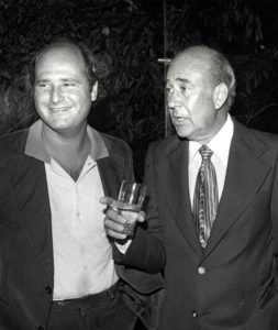Rob and Carl Reiner