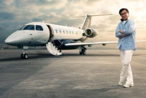Jackie Chan's Jet