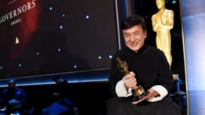Jackie Chan Honorary Oscar