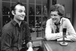 David Letterman anad Bill Murray