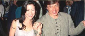 Jackie Chan and Joan Lin
