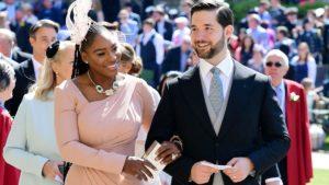 Alexiis Ohanian and Serena Williams