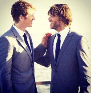 David and Christian Olsen