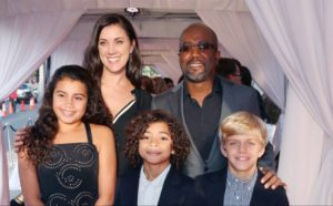 Darius Rucker Family
