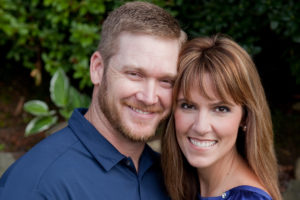 Taya Kyle with husband