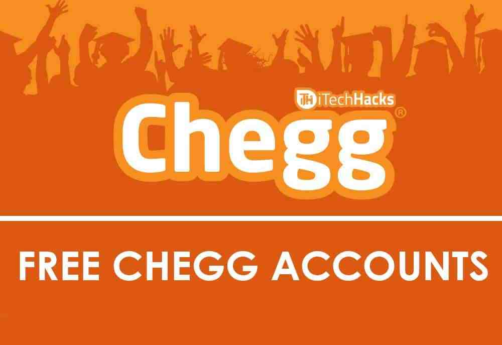 Free Chegg Account You Should Use In 2020 Imagup